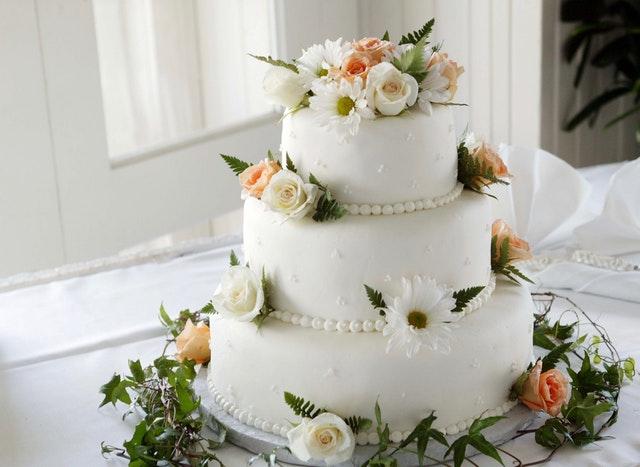 Bryllupskagen